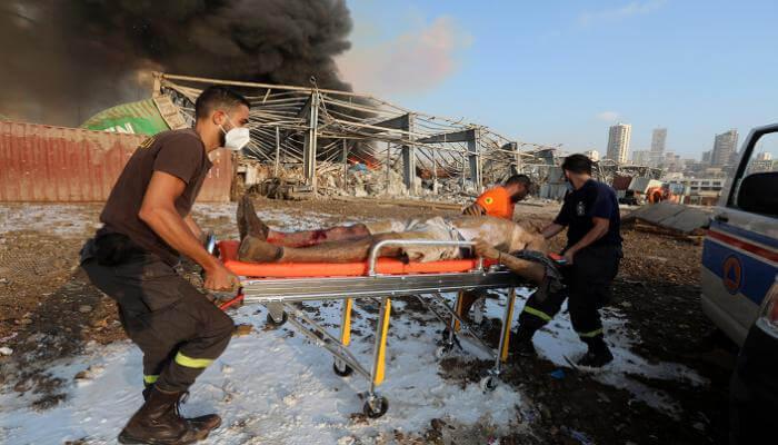 ارتفاع حصيلة ضحايا انفجار مرفأ بيروت