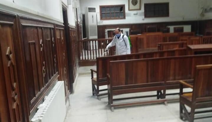 إصدار دليل لتدبير المحاكم بعد ارتفاع إصابات موظفي العدل بكورونا
