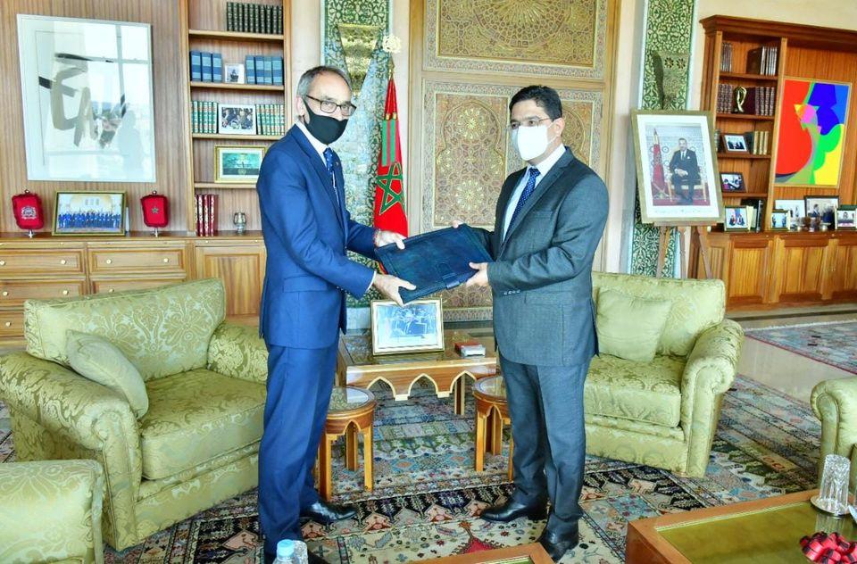 بوريطة يستقبل السفير الجديد للمملكة المتحدة بالمغرب