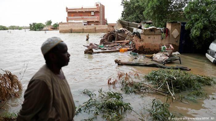 بسبب الفيضانات السودان يعلن حالة الطورائ لثلاثة أشهر