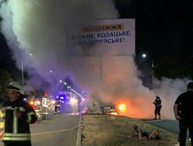 مصرع 3 طلبة مغاربة حرقا داخل سيارة بأوكرانيا