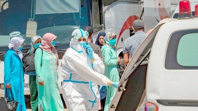 كورونا المغرب..  تسجيل 244 إصابةء239 حالة شفاء و 8 وفيات، خلالآخر  24 ساعة