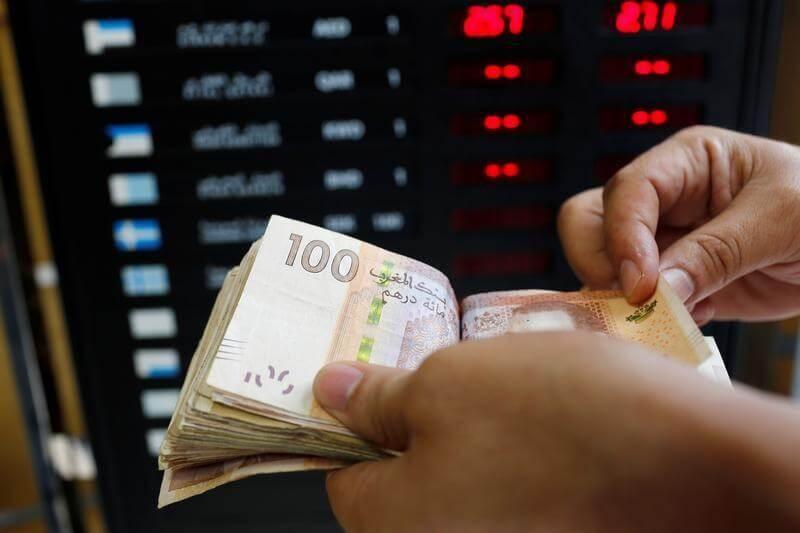 ارتفاع سعر صرف الدرهم أمام الدولار