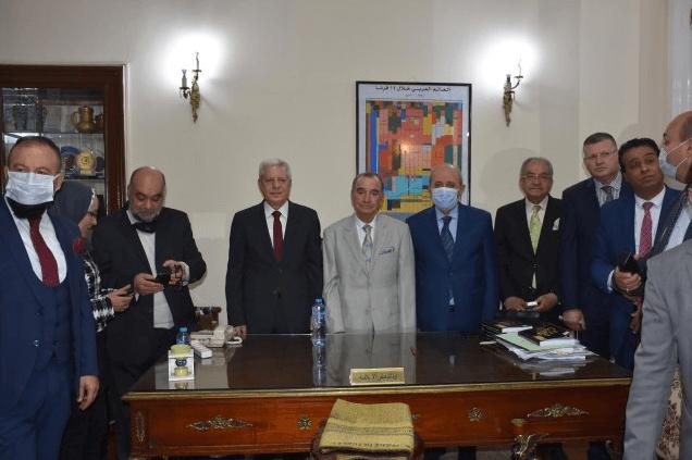 النقيب مكاوي بنعيسى أمينا عاما لاتحاد المحامين العرب