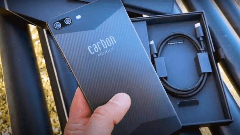 الكشف عن هاتف متين وخفيف الوزن مصنوع من ألياف الكربون