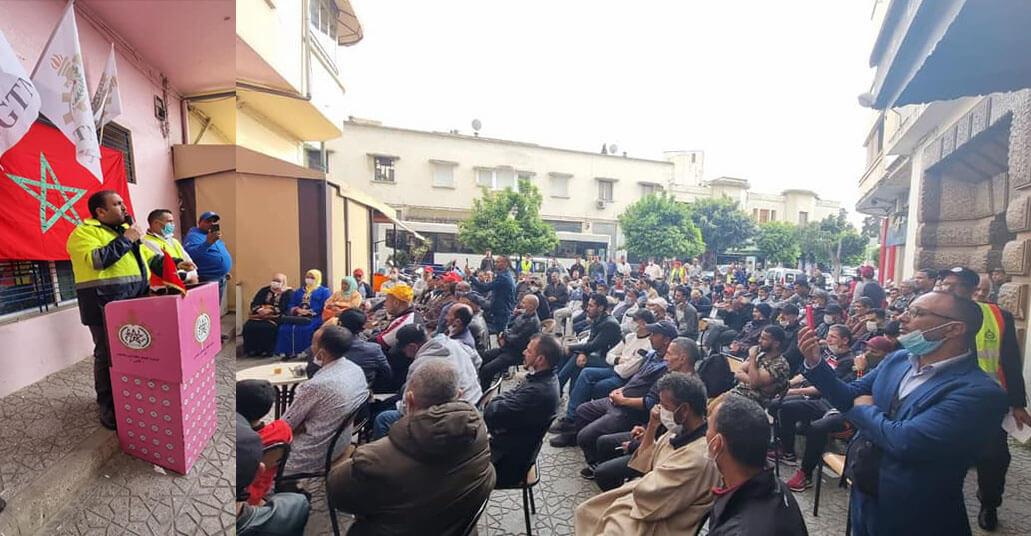 القصف من الداخل .. قيادي في نقابة الميزان يهاجم شباط ويصفه بالمرتزق في تجمع عمالي