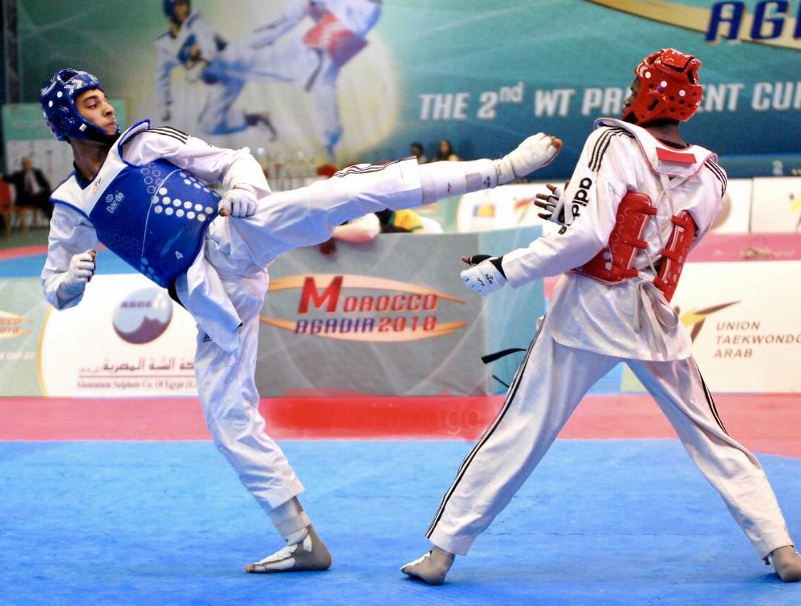 بطولة إفريقيا للتايكواندو.. المغرب يحرز 8 ميداليات