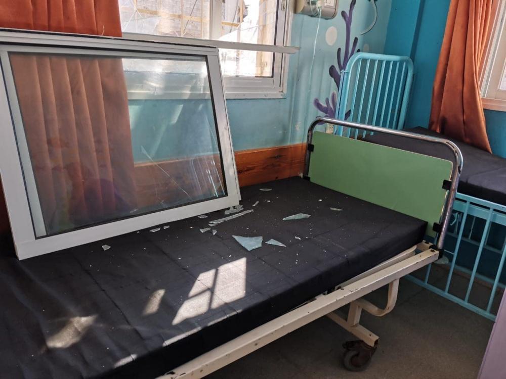 عدوان الاحتلال الإسرائيلي يطال المستشفيات في قطاع غزة