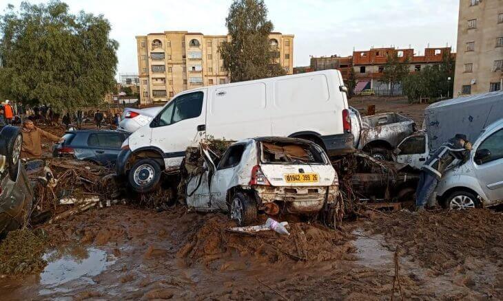 وفاة 7 أشخاص بسبب السيول في الجزائر