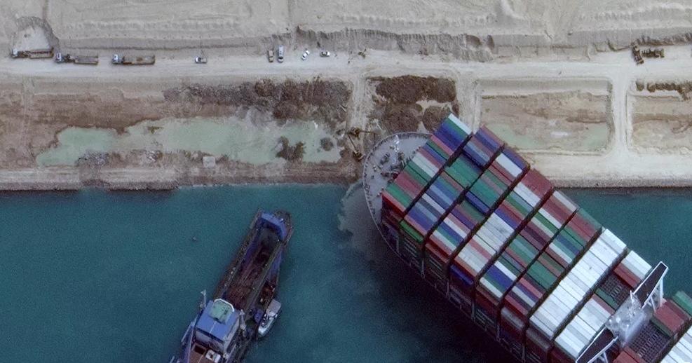 """التحقيقات تثبت تسبب ربان سفينة """"إيفر غيفن"""" في حادث قناة السويس"""