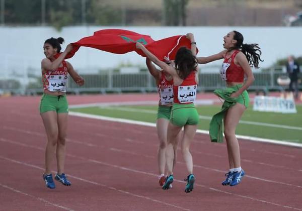 المغرب يتوج بطلا للبطولة العربية لألعاب القوى ذكورا وإناثا