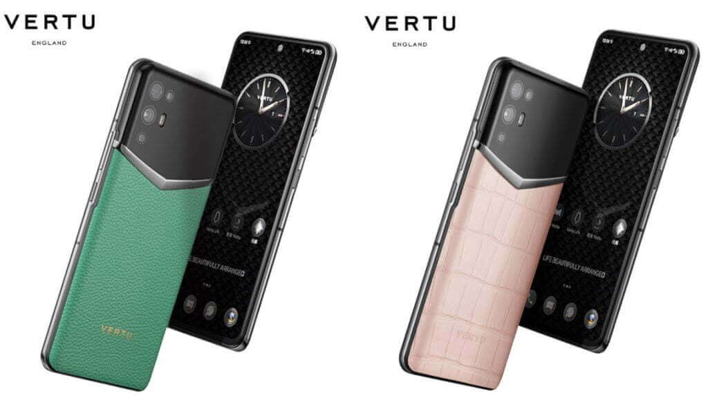 Vertu تعلن عن واحد من أفضل الهواتف الفاخرة في العالم