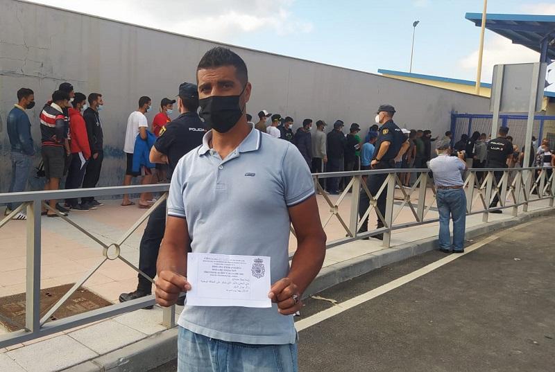 المغرب يسمح بدخول مهاجرين سبتة الذين يريدون العودة طواعية