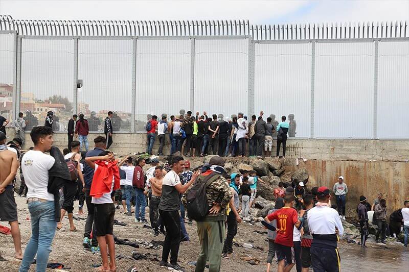إسبانيا تتقدم بمشروع لإدانة المغرب بسبب أحداث سبتة
