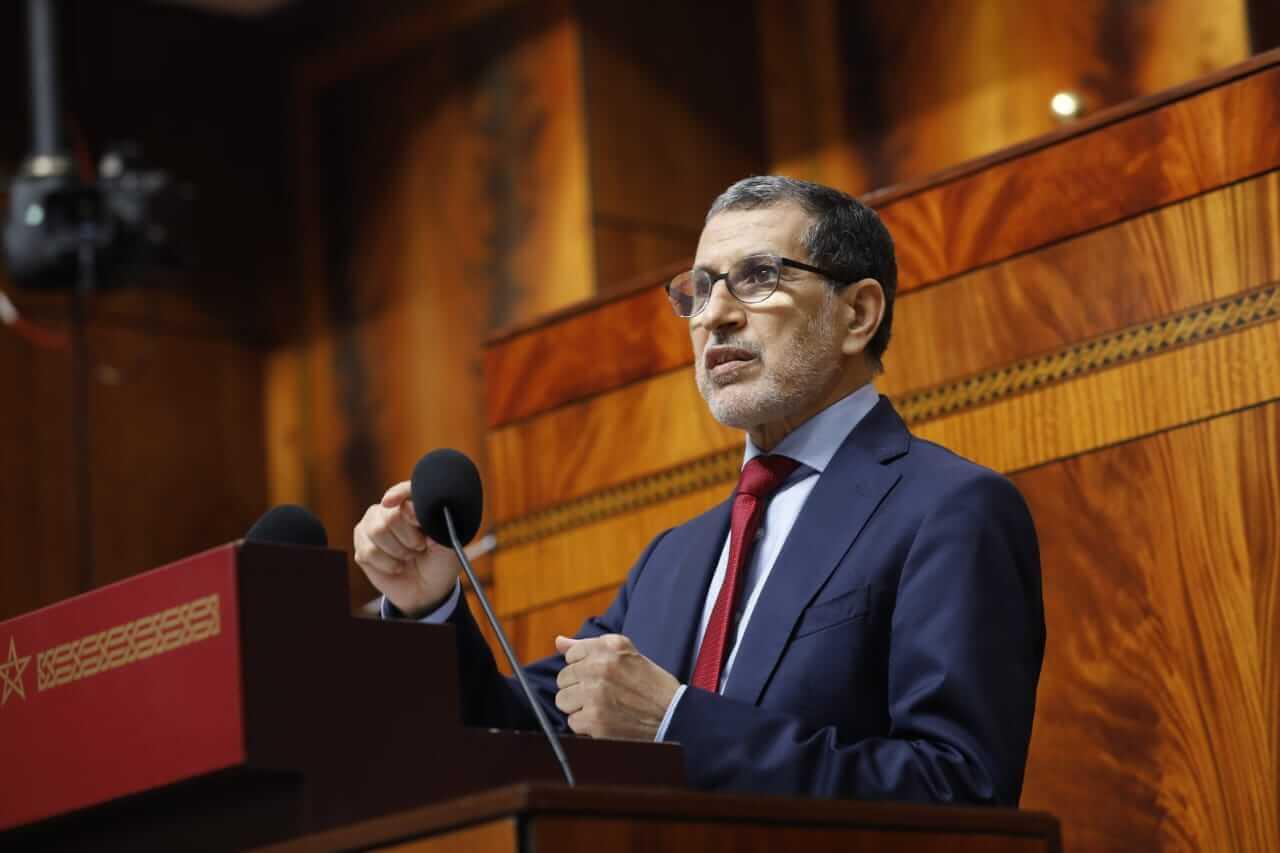 العثماني: حصيلة عمل الحكومة مشرفة ونتاج عمل جماعي
